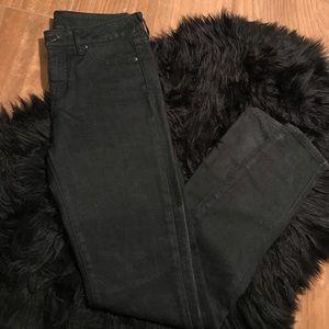 Faded wash black Armani / Exchange jeans